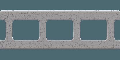 בלוק בטון לבניה במידות שונות זהו בלוק נפוץ העשוי בטון ועל כן מכונה בלוק בטון.