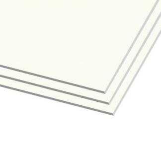 """לוחות גבס לבן הם לוח גבס סטנדרטי בעובי של 12.5 מ""""מ לשימוש פנימי בלבד."""