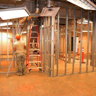 פרופיל מסלול לקירות גבס מגיע באורך של 3 מטר ויכול להגיע במידות עובי שונות